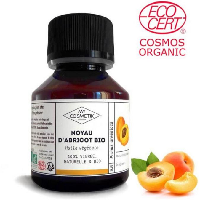 Huile de noyau d'abricot BIO 10 ml