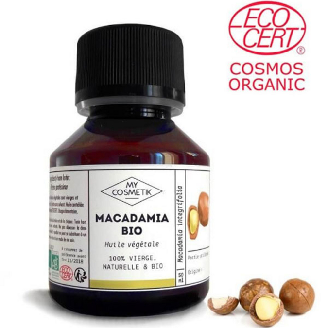 Huile de macadamia BIO 10 ml