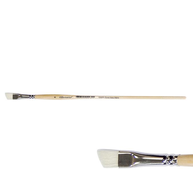 Brosse fileur soie beau-blanc s.1005PV 20