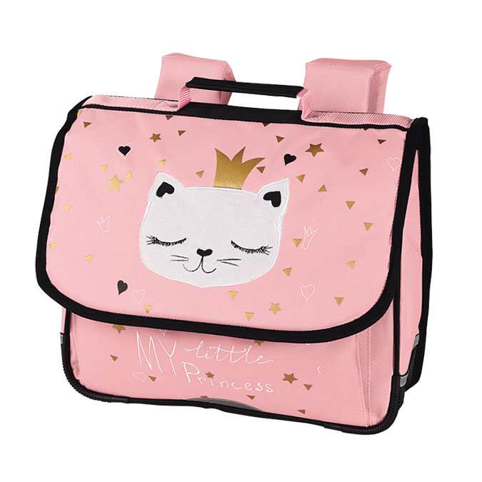 Cartable Chaton Princesse 35 x 30 cm