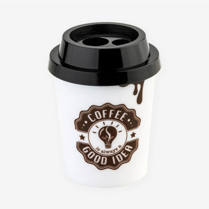 Double taille crayon Coffe Up