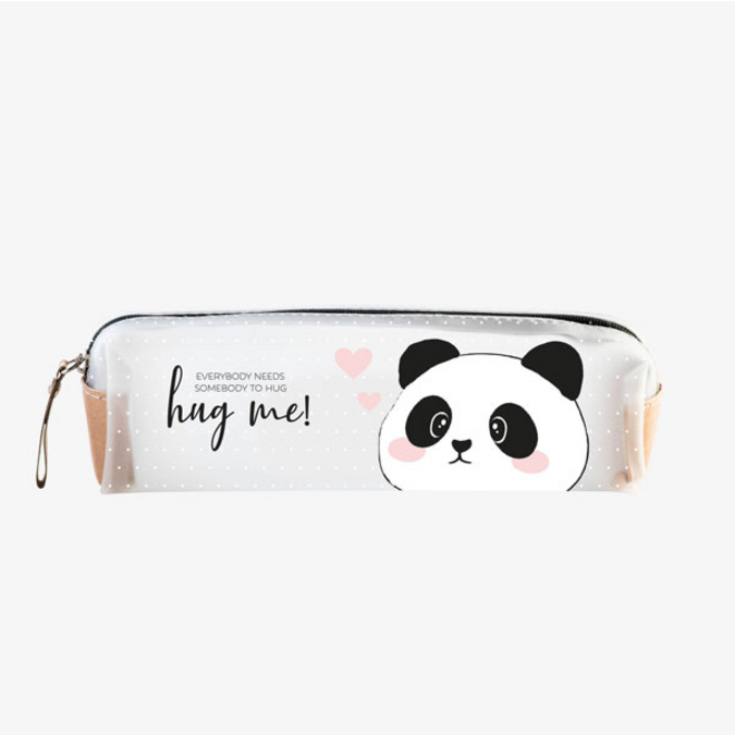 Trousse transparente panda