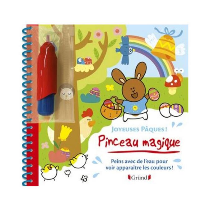 Pinceau magique album Joyeuses Pâques
