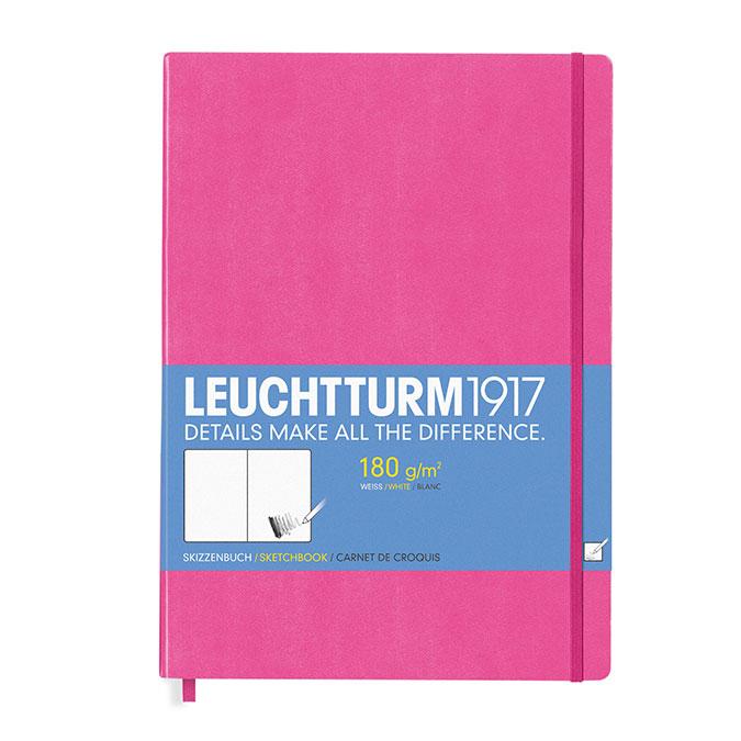 Carnet de croquis 180 g/m² 96 p. A4+ 22,5 x 31,5 cm New Pink