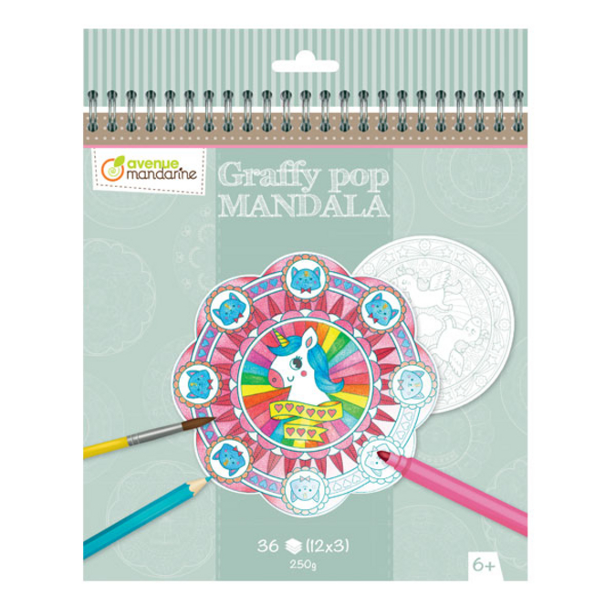 Mandala Graffy Pop Magie