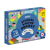 Coffret stickers et decor pocket Petite ville