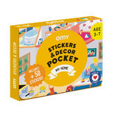 Coffret stickers et decor pocket Ma maison
