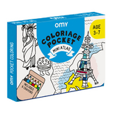 Coffret coloriage pocket Mini atlas