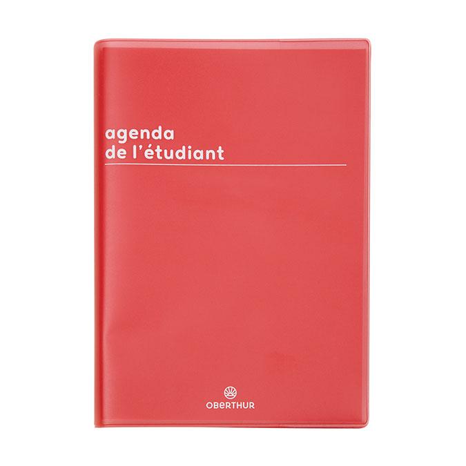 Agenda scolaire 2020-21 journalier 12 x 17 cm Boréal