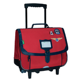 Trolley 38 cm Les Fantaisies Tom Rouge
