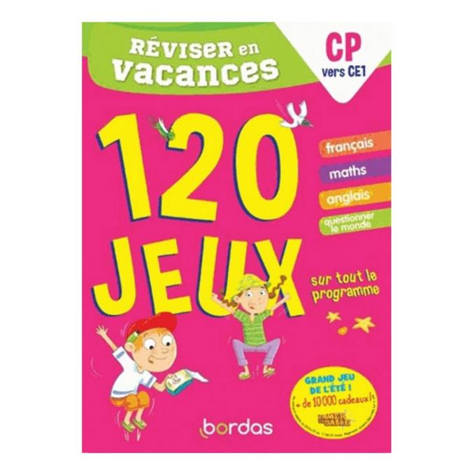 Cahier de vacances Réviser en vacances CP