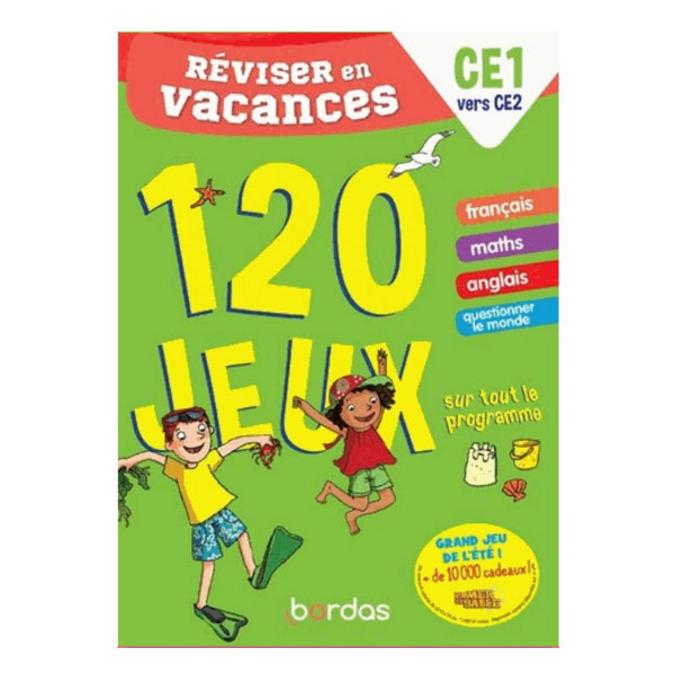 Cahier de vacances Réviser en vacances CE1