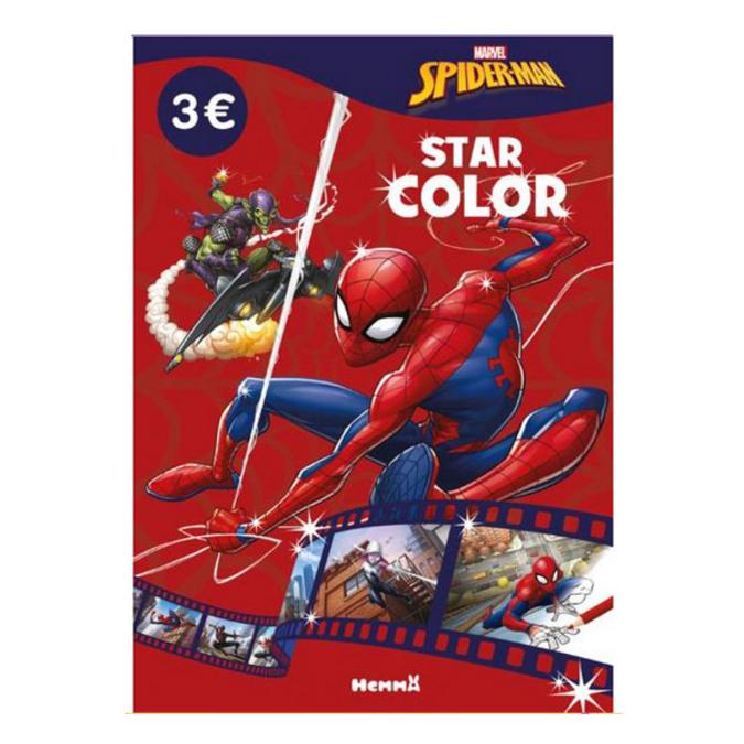 Album de coloriage Star color Marvel Spider-man