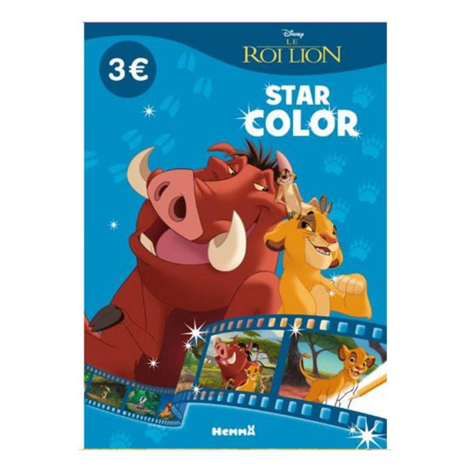 Album de coloriage Star color Disney le roi lion
