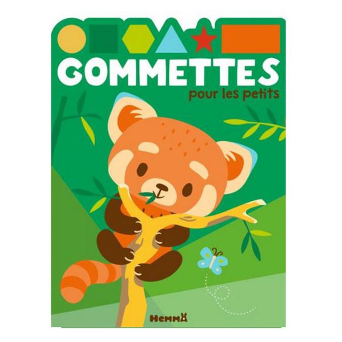 Gommettes pour les petits Panda roux