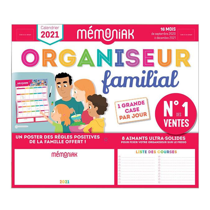 Organiseur familial Mémoniak 2020 - 2021