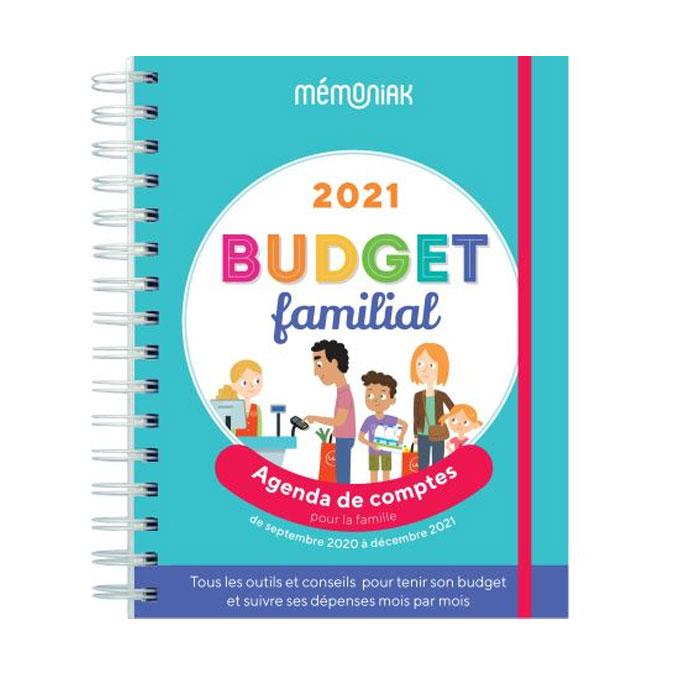 Agenda familial de compte Mémoniak 2020 - 2021