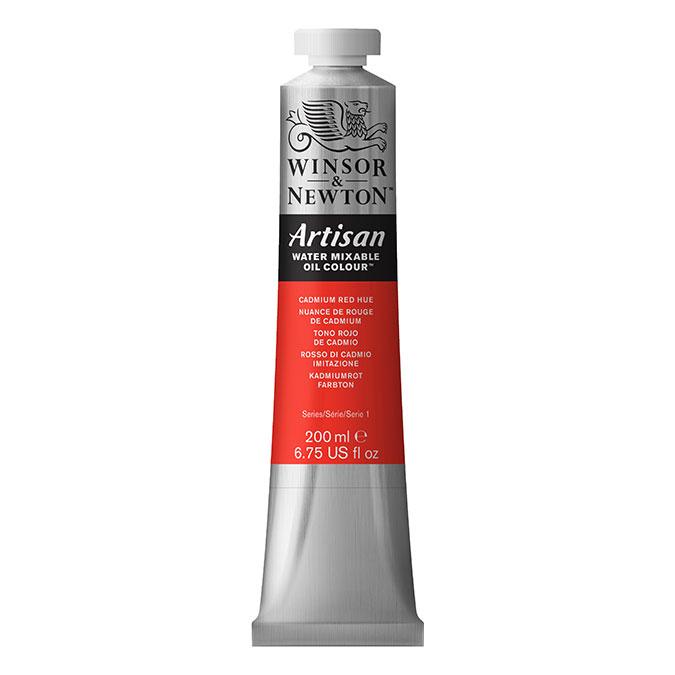 Peinture à l'huile hydrosoluble Artisan 200 ml 331 Noir d'ivoire AA O