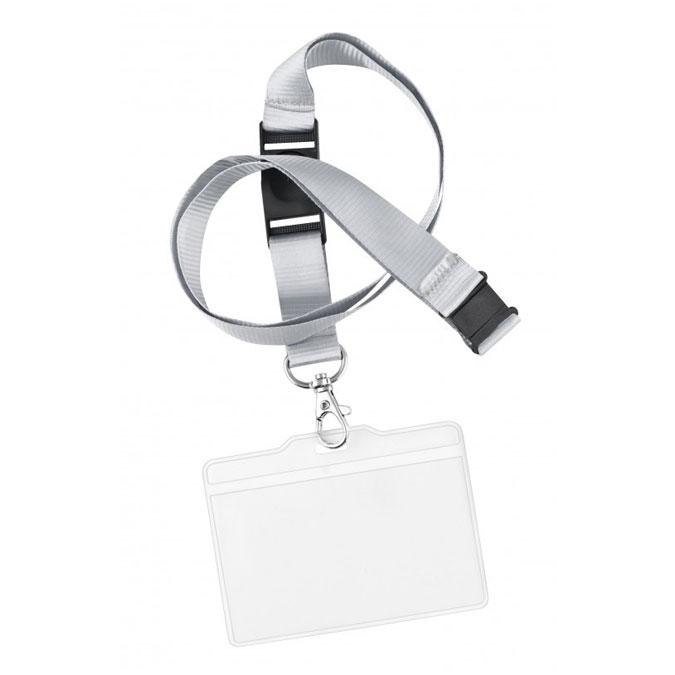 Badge porte étiquette avec tour de cou