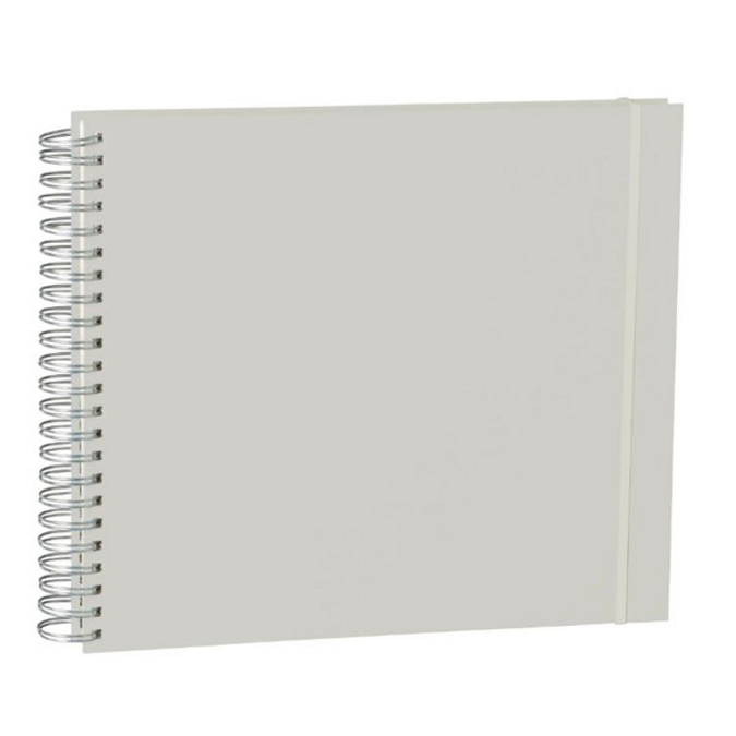 Album Maxi Mucho 90 pages crème couverture lin 34,5 x 30 cm Stone