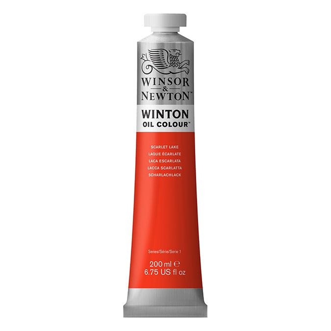 Peinture à l'huile fine Winton 200 ml 331 Noir d'ivoire AA O