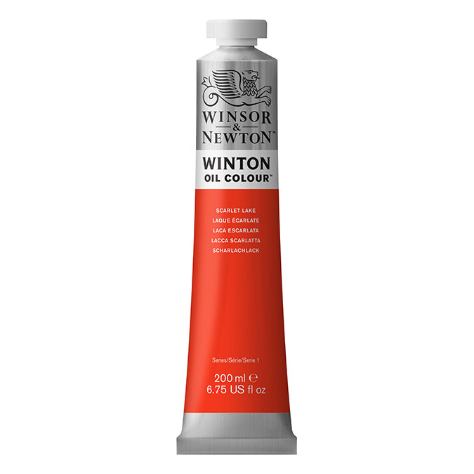 Peinture à l'huile fine Winton 200 ml 644 Blanc de titane AA O