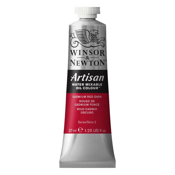 Peinture à l'huile hydrosoluble Artisan 37 ml 331 Noir d'ivoire AA O