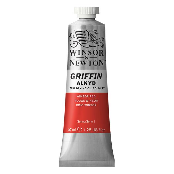 Peinture à l'huile Alkyde Griffin 37 ml 331 Noir d'ivoire AA O