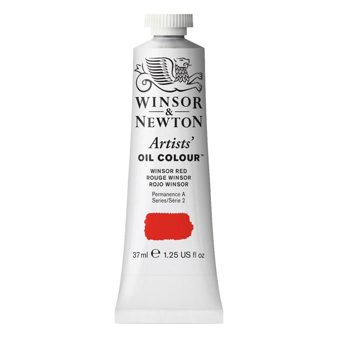 Peinture à l'huile extra-fine Artists' Oil Colour 37 ml 034 Noir vigne A SO