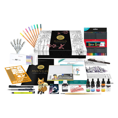 Coffret dessin TutoDraw Manga Collector