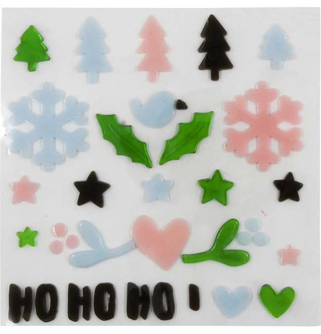 Décoration de Noël pour fenêtre 29 pcs