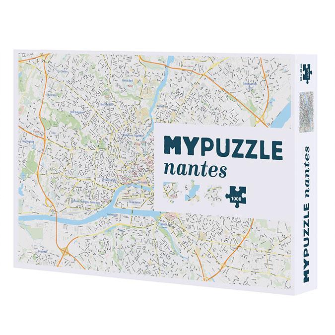 Puzzle plan de Nantes