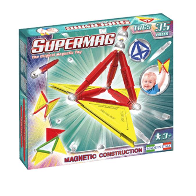 Jeu de construction magnétique Primary 35 pcs