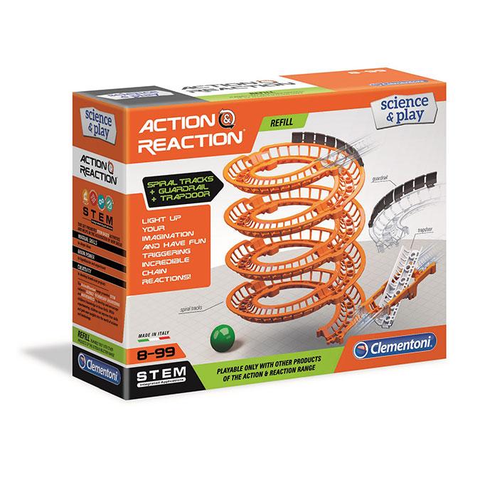 Jeu scientifique Action & Réaction extension Spirale + Trappe