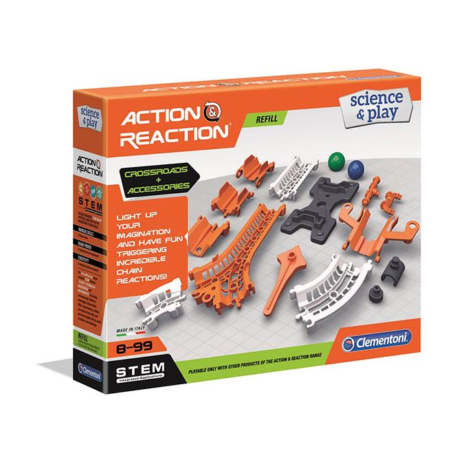 Jeu scientifique Action & Réaction extension Rails + Plateforme + Jonctions