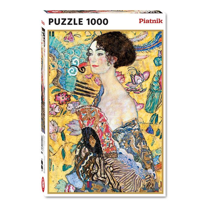 Puzzle Dame à l'éventail 1000 pièces