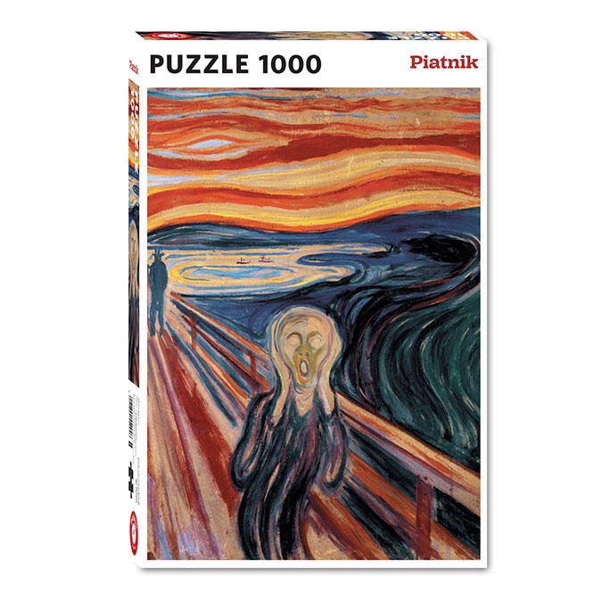 Puzzle Le cri 1000 pièces
