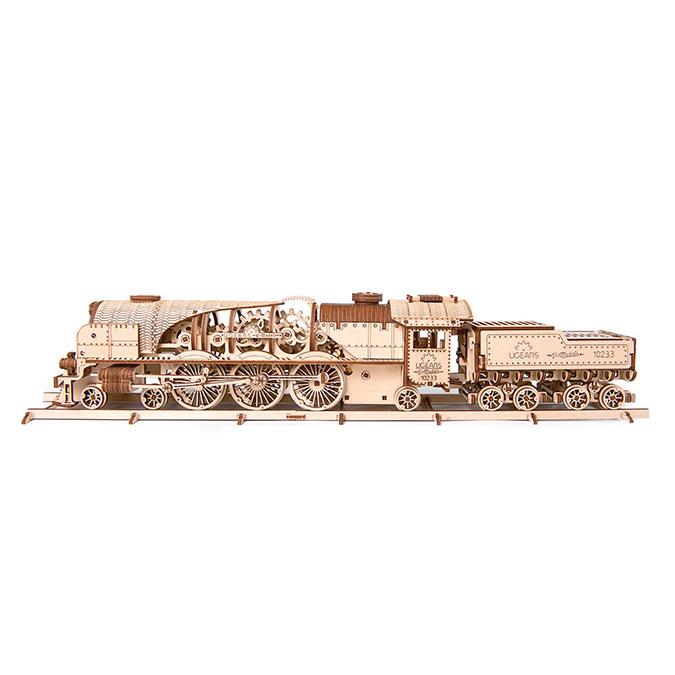 Puzzle mécanique en bois Locomotive V-Express