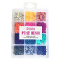 Perle rondelle Heishi 6 mm Mix couleurs Vives