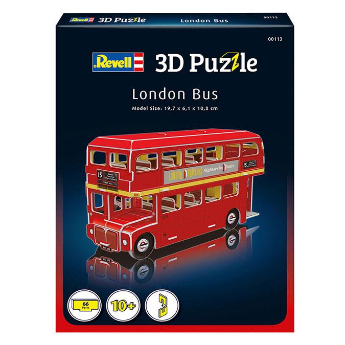 Puzzle 3D Bus londonien