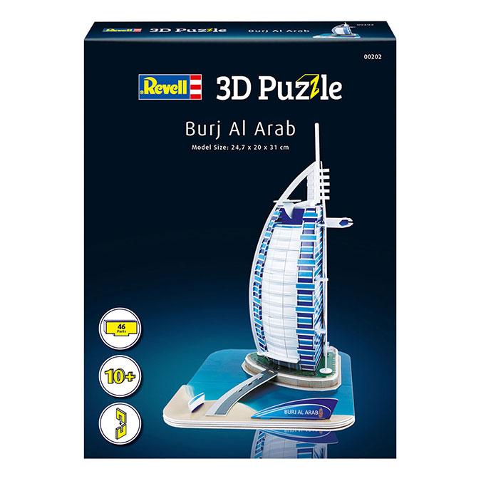 Puzzle 3D Hôtel Burj Al Arab