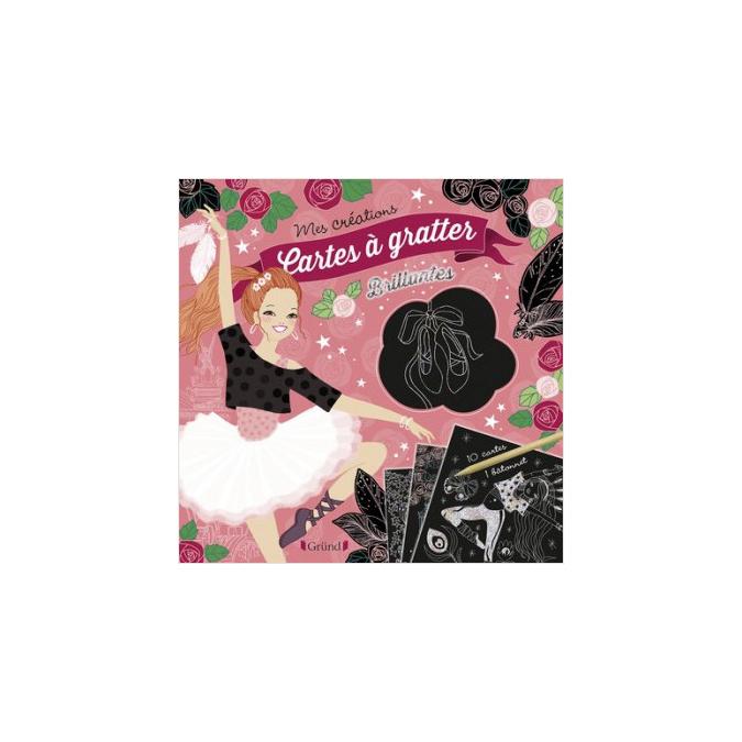 Pochette Mes créations : Cartes à gratter brillantes - Danse