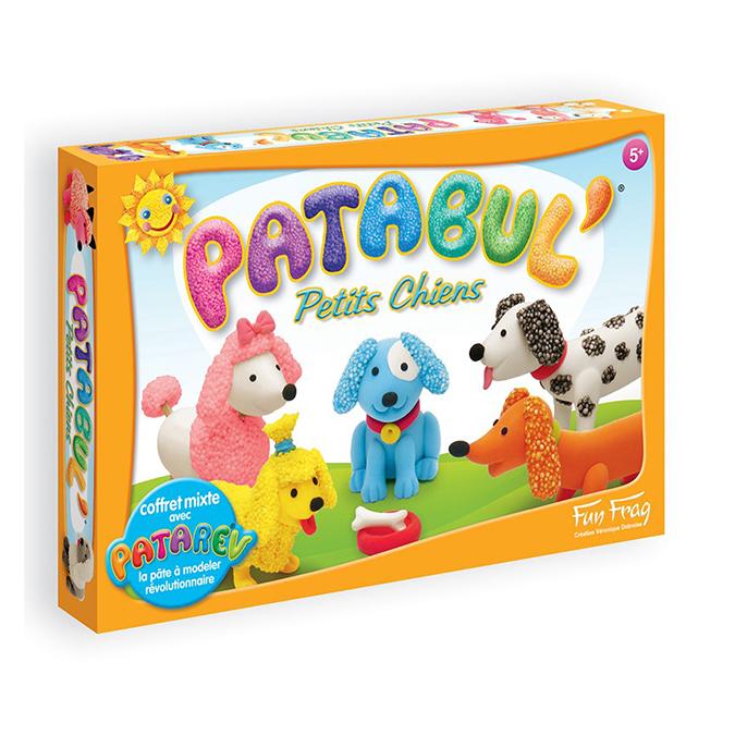 Pâte à modeler Patabul' Coffret Petits chiens