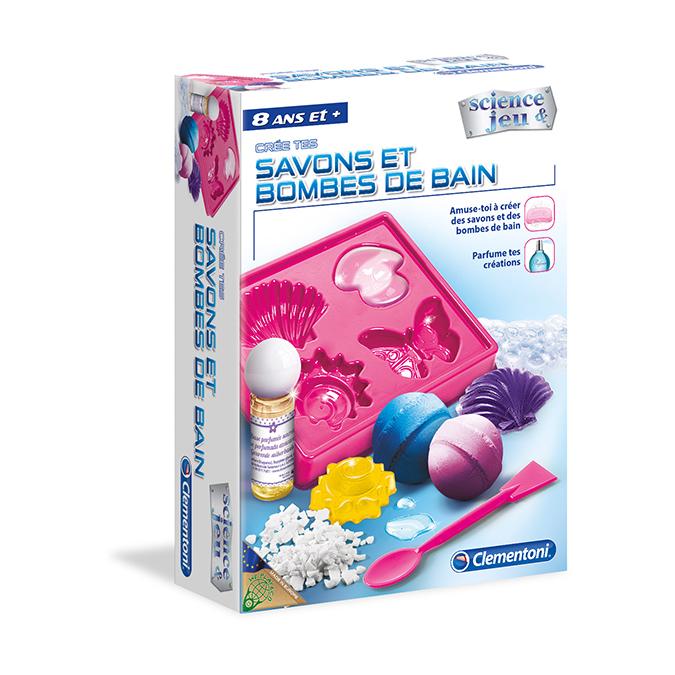 Coffret activité Savons et Bombes de bain