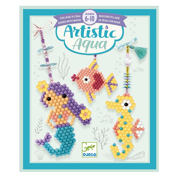 Activité collage Artistic aqua Marins