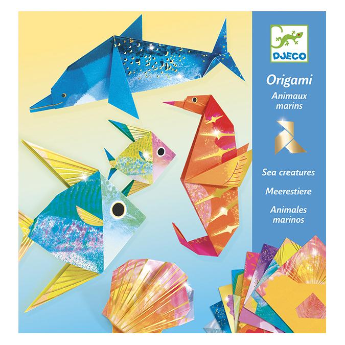 Origami Animaux marins