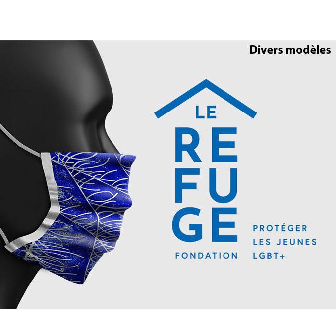Masque Collection Marie-Agnès Gillot pour Le Refuge Aurèle Lostdog - 1