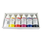 Peinture acrylique Extra-fine Set Introduction 6 x 100 ml