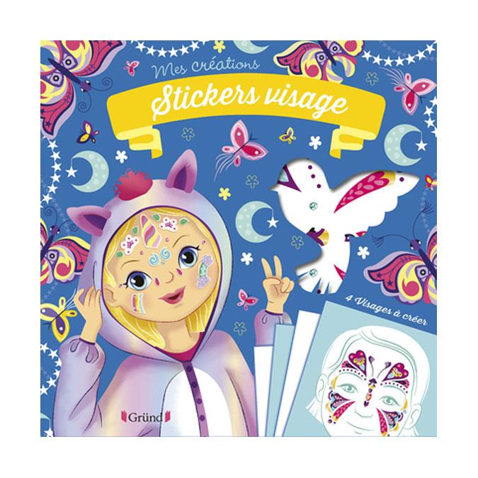 Pochette Mes Créations : Stickers visage Animaux magiques