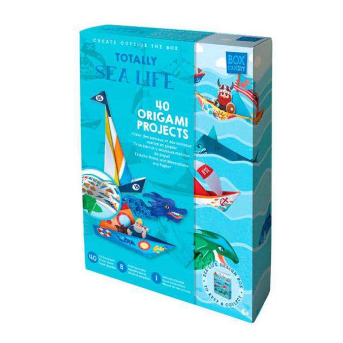 Coffret d'Origami La vie marine
